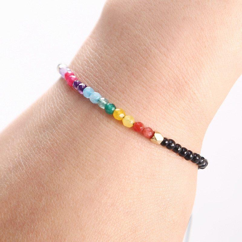 12 Constellation Lucky Stone Bracelet